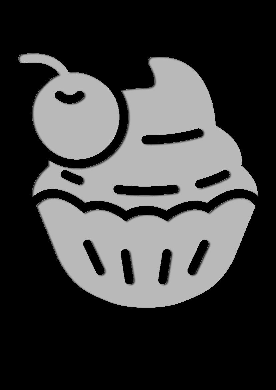 Pochoir Gastronomie Petit g�teau