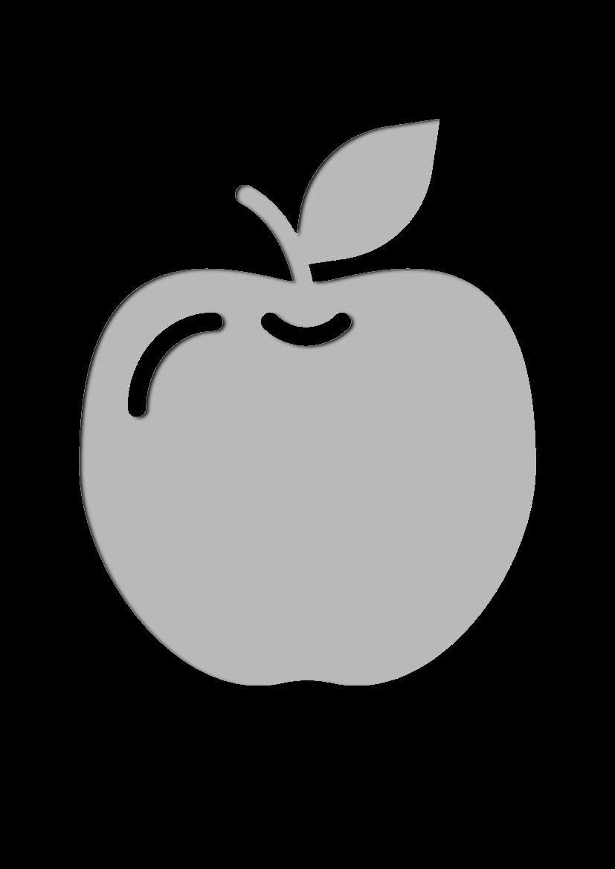 Pochoir Gastronomie Pomme