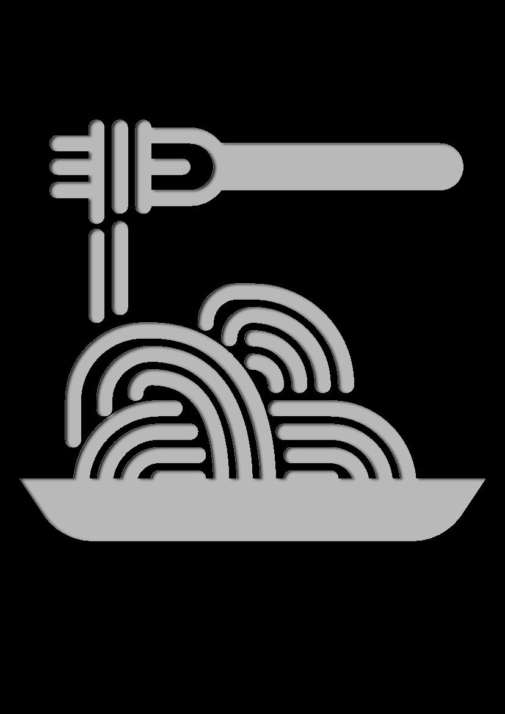 Pochoir Gastronomie Spaguetti