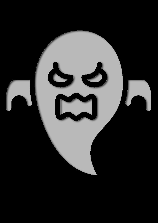 Pochoir Halloween Fantôme