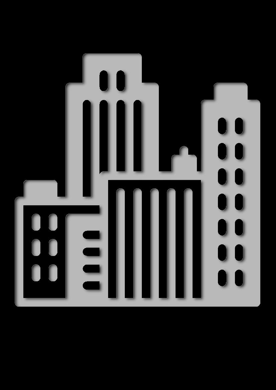 Pochoir Immobilier Paysage urbain