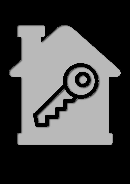 Pochoir Immobilier Clé de la maison