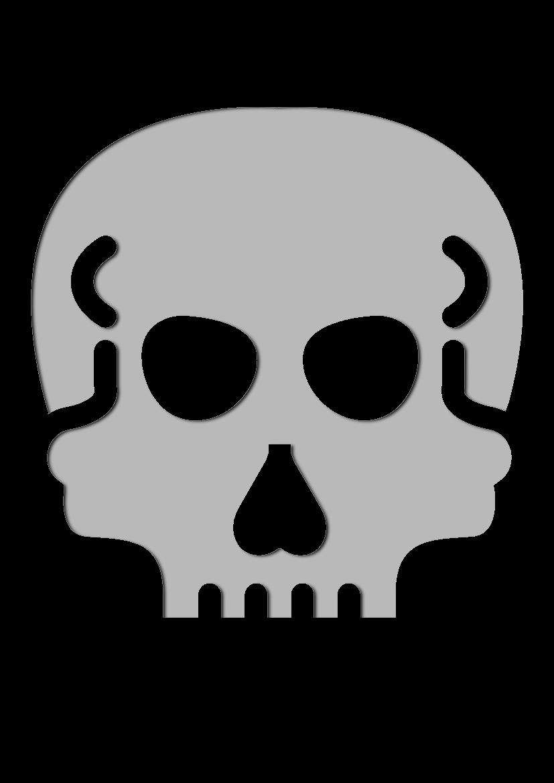 Pochoir Medical Crâne
