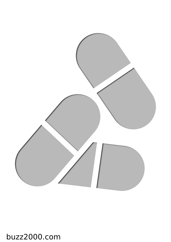 Pochoir Medical Pilules
