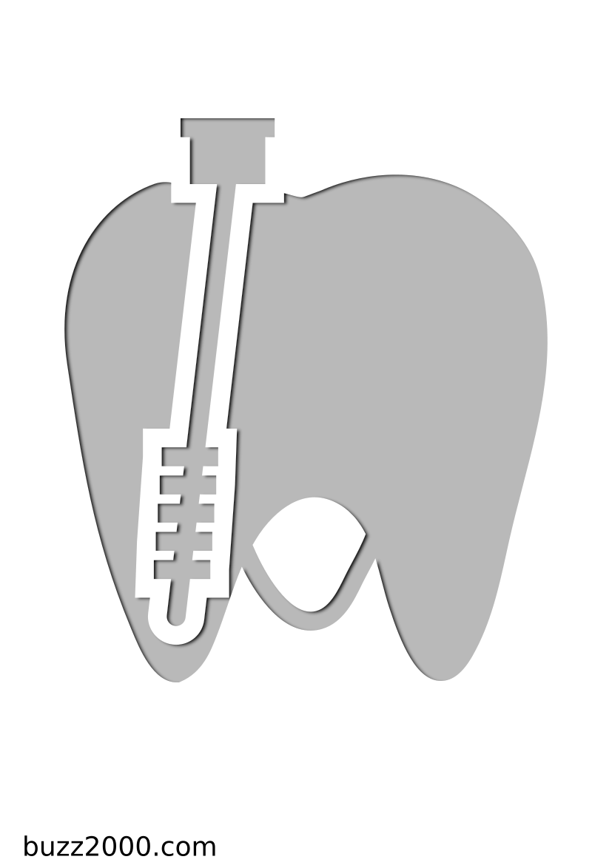 Pochoir Medical Les dents