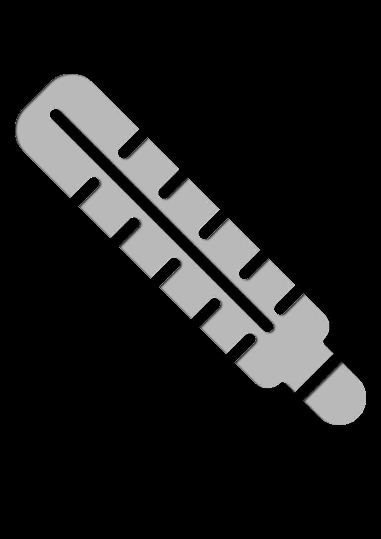 Pochoir Medical Thermomètre