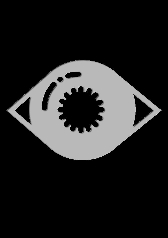 Pochoir Medical Iris