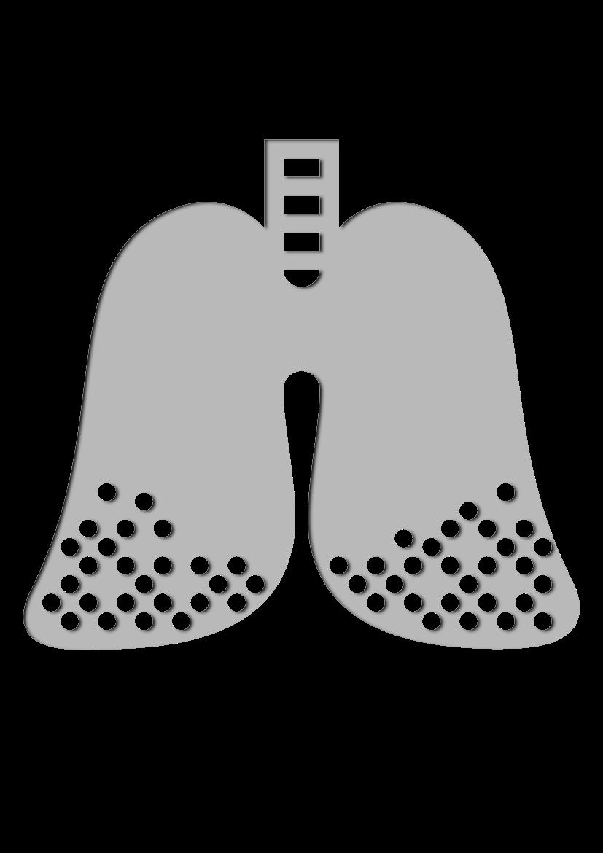 Pochoir Medical Poumons
