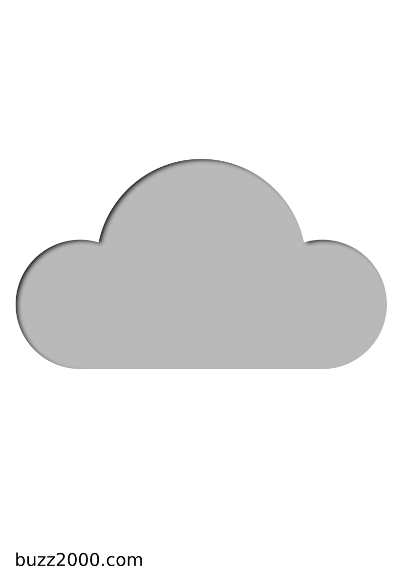 Pochoir Meteo Cloud computing