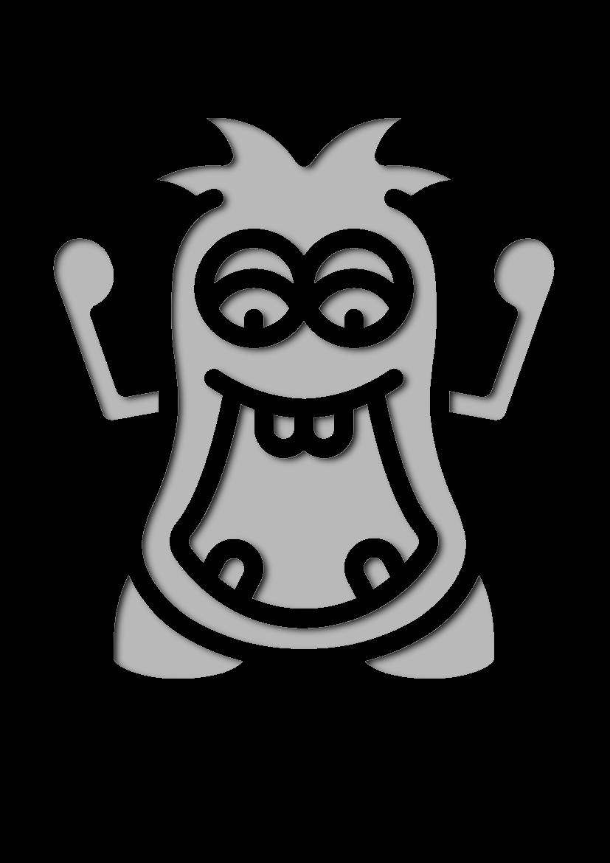 Pochoir Monstres Monstre