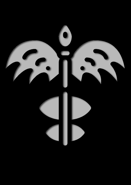 Pochoir Mythologie-grecque Sceptre