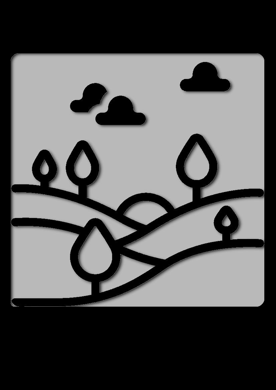 Pochoir Nature Paysage