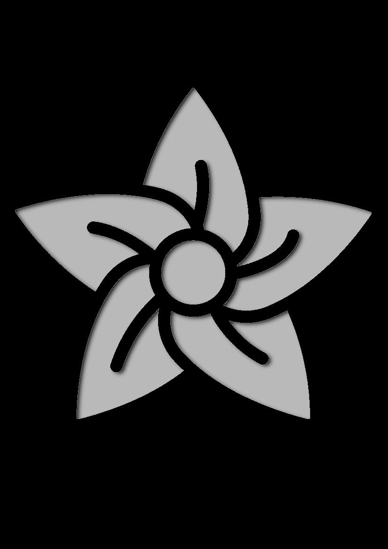 Pochoir Nature Fleur
