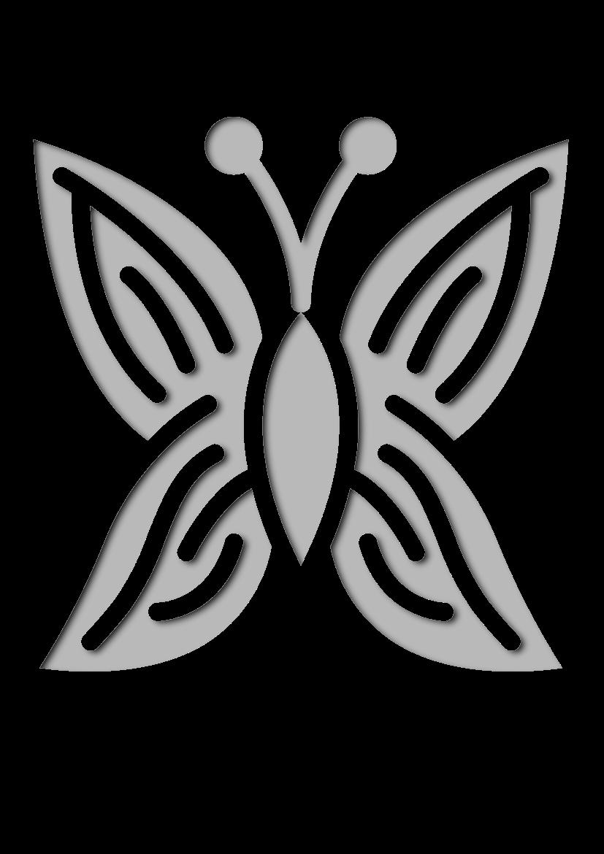 Pochoir Nature Papillon