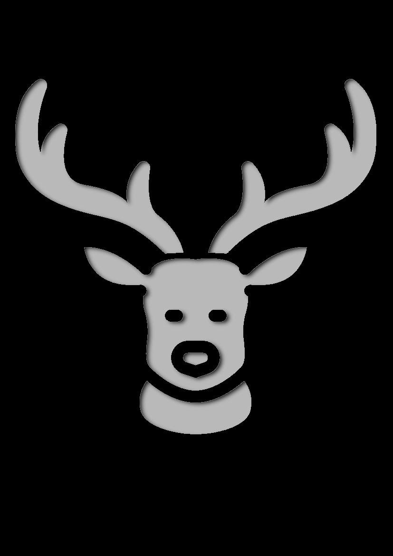 Pochoir Nature Cerf