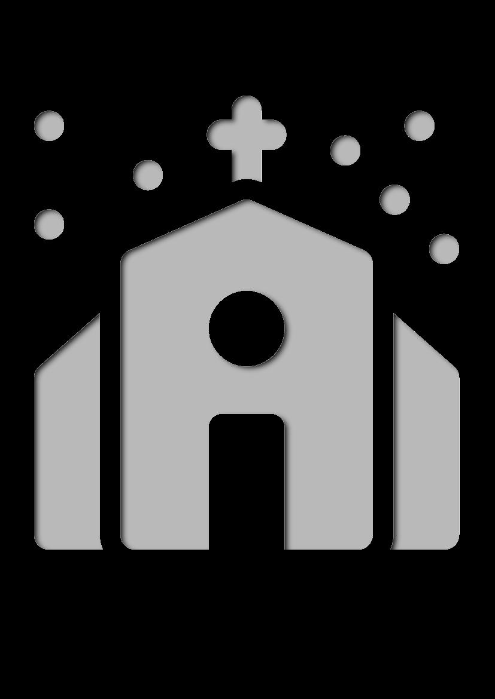 Pochoir Noel Église