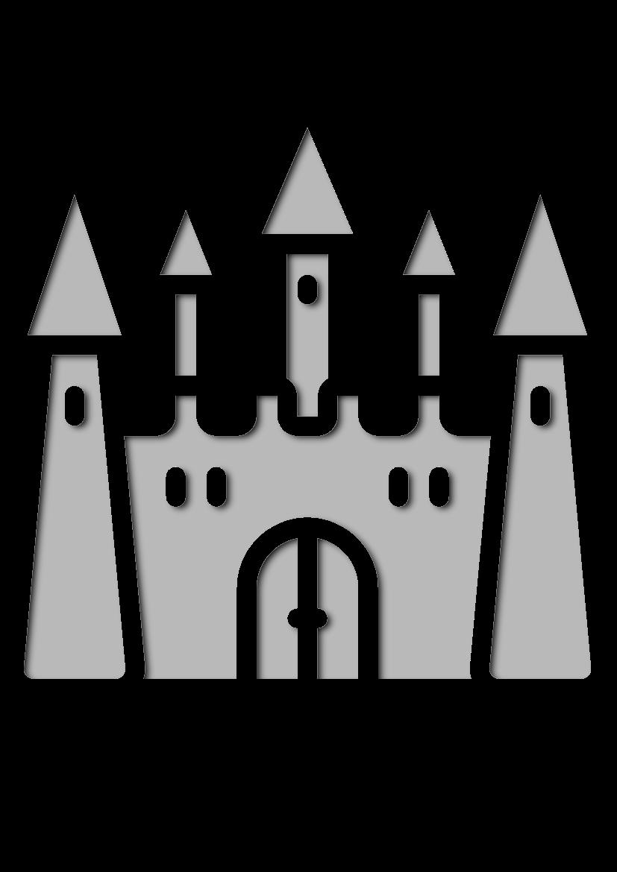 Pochoir Princesse Château