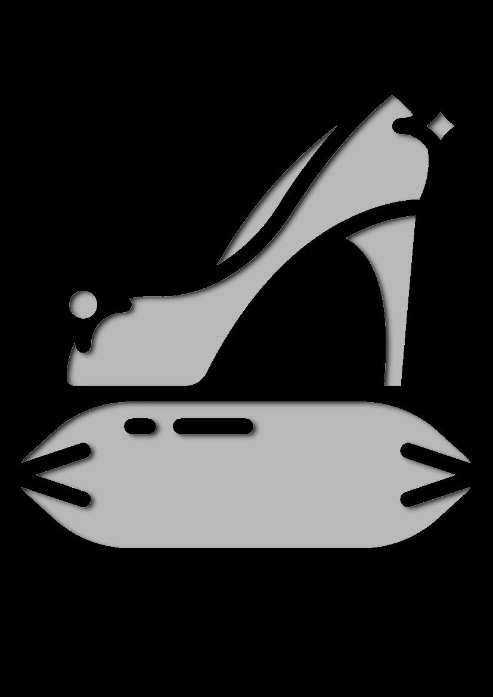 Pochoir Princesse Chaussure Cendrillon