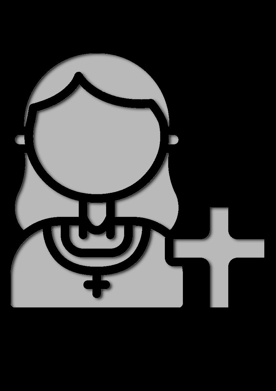 Pochoir Professions Prêtre