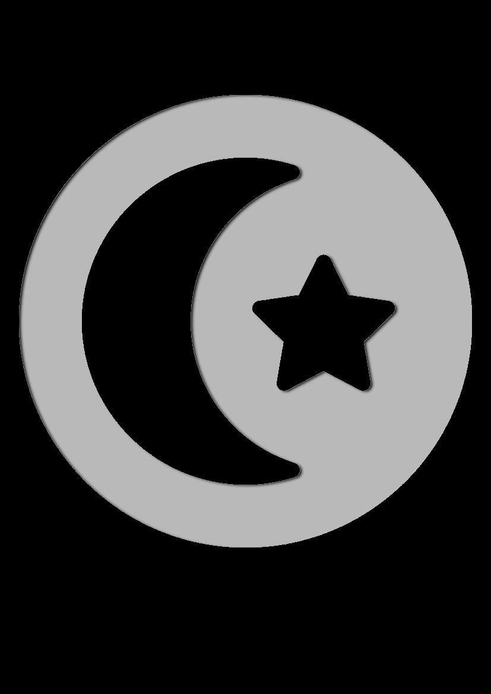 Pochoir Religion L'islam