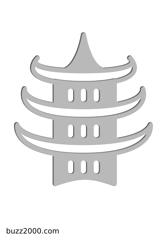 Pochoir Religion Taoïsme