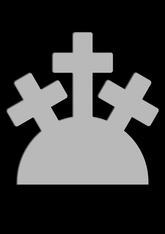 Pochoir Religion Calvaire