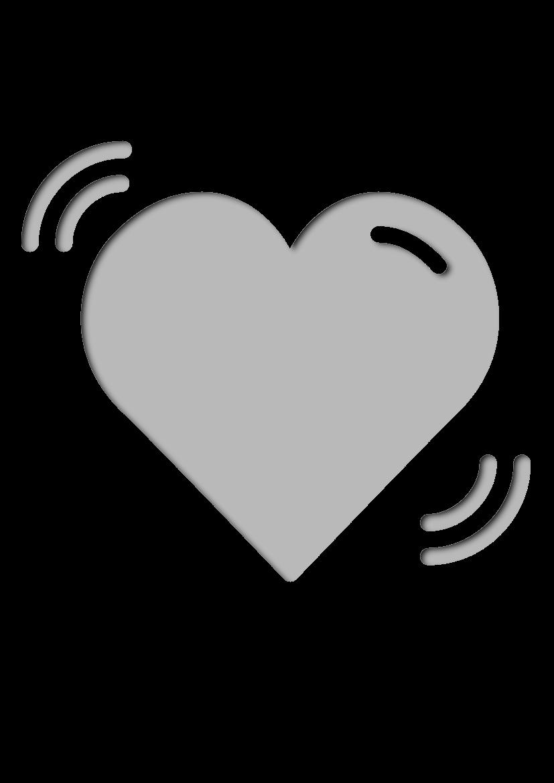 Pochoir Romantique Cœur