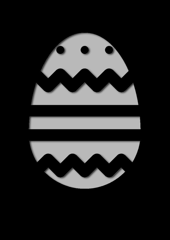 Pochoir Saisons Œuf de Pâques
