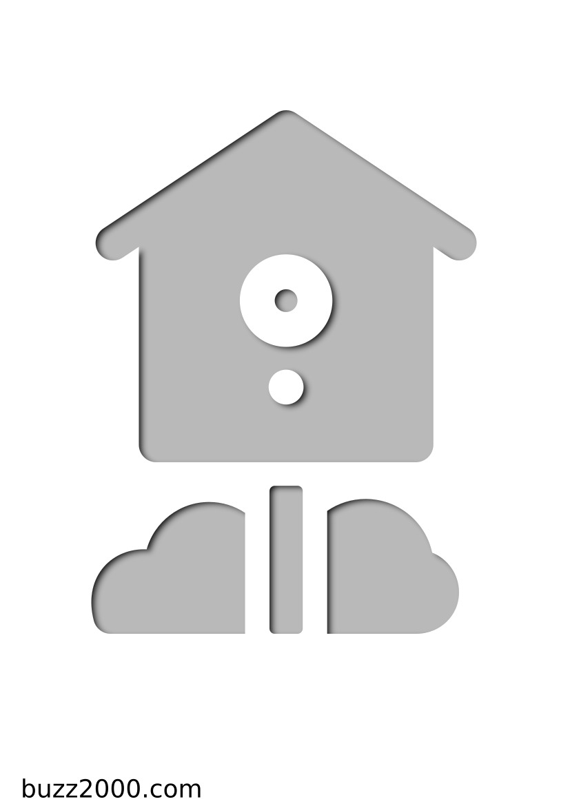 Pochoir Saisons Birdhouse