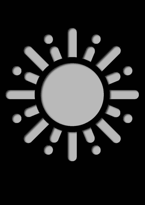 Pochoir Saisons Soleil