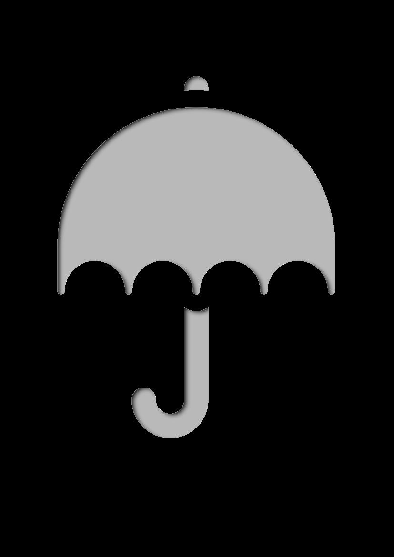 Pochoir Saisons Parapluie