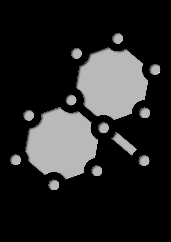 Pochoir Science Molécule
