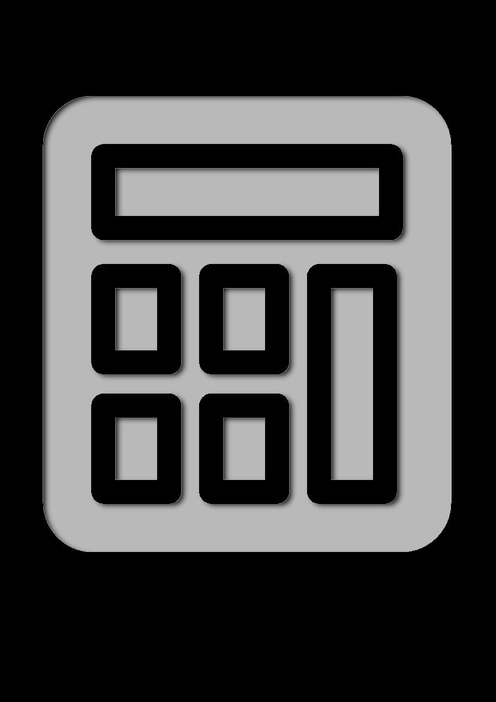 Pochoir Science Calculatrice