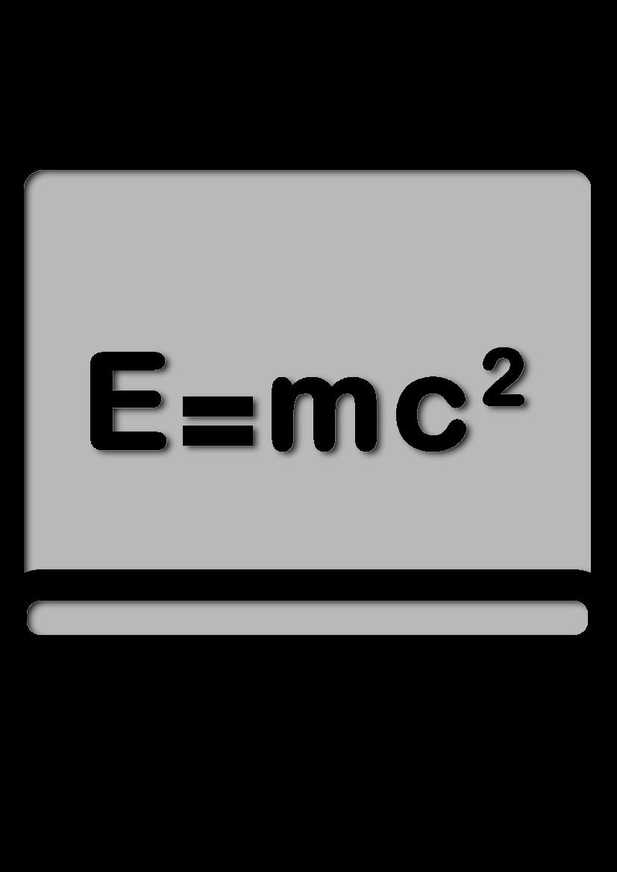 Pochoir Science Tableau noir