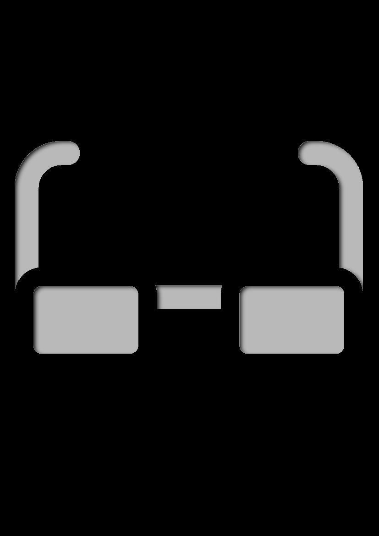 Pochoir Science Des lunettes
