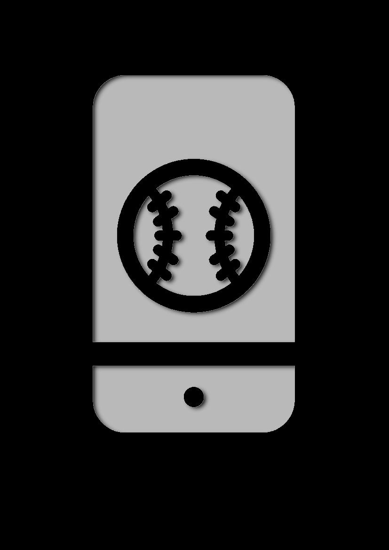 Pochoir Sports Téléphone intelligent