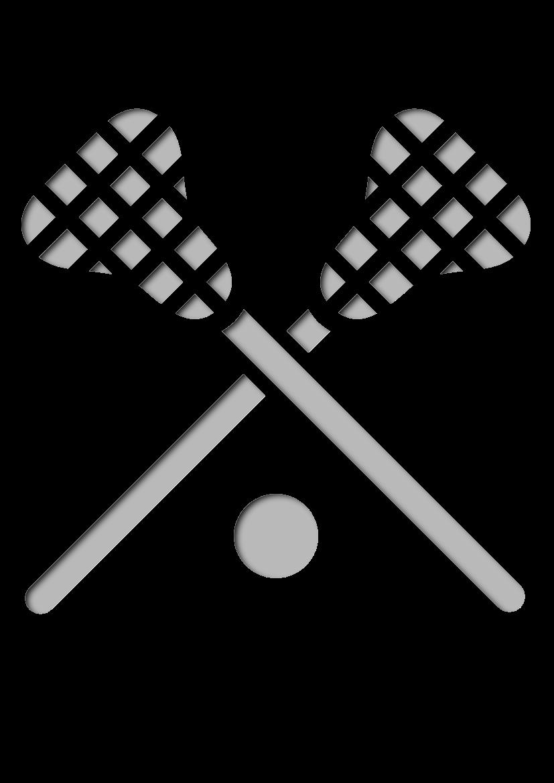 Pochoir Sports Lacrosse