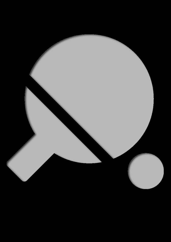 Pochoir Sports Ping pong