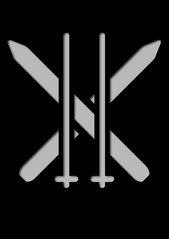 Pochoir Sports Ski