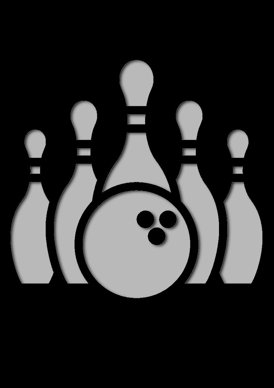 Pochoir Sports Bowling