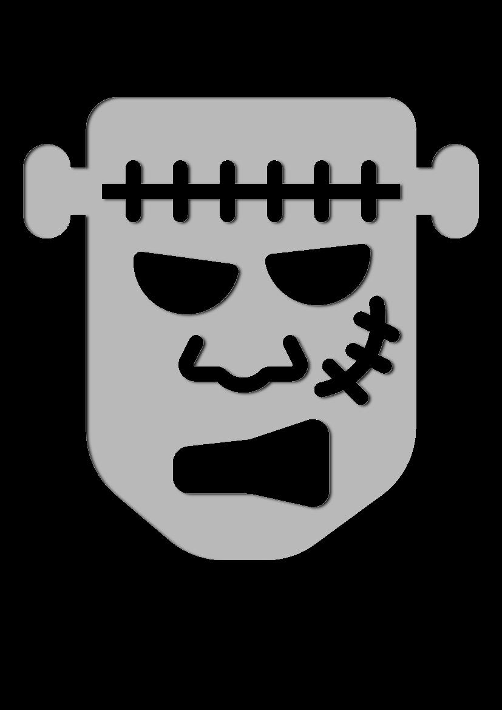 Pochoir Vacances Frankenstein